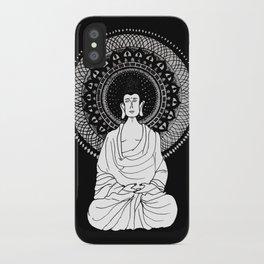 Buddha and Mandala iPhone Case