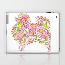 Pink Pomeranian Laptop & iPad Skin