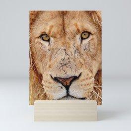 Lion Face Mini Art Print