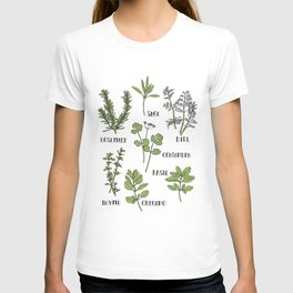 Herb and Seasoning T-shirt