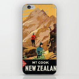 Vintage poster - New Zealand iPhone Skin