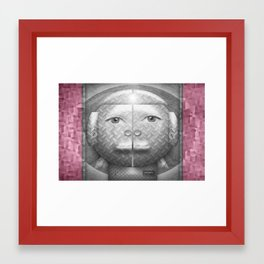Flumercury Woman Framed Art Print
