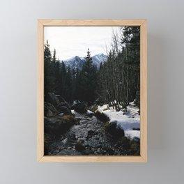 Hiking in the Rockies Framed Mini Art Print