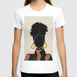 Black Hair No. 14 T-shirt