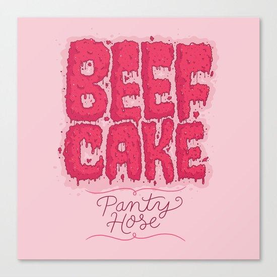 Beef Cake Canvas Print