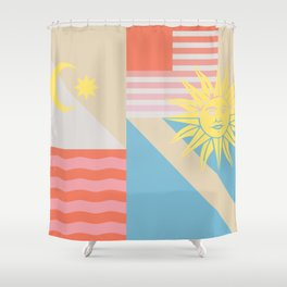 Sun & Sky Shower Curtain
