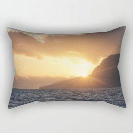 Sunset at Madeira island Rectangular Pillow