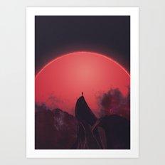 Abaddon Art Print
