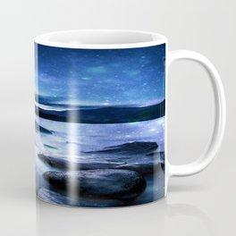 Magical Mountain Lake Blue Coffee Mug