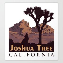Joshua Tree National Park. Art Print