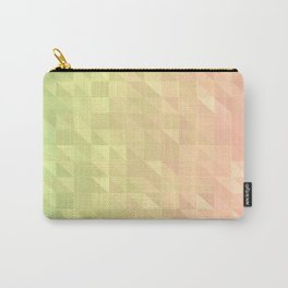 Pink and Green Carry-All Pouch