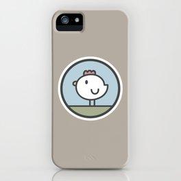 Free Range Chicken iPhone Case
