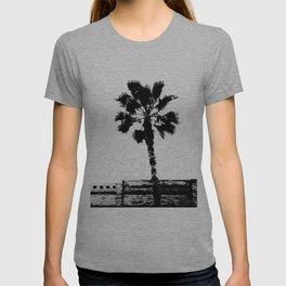 Black & White Palm T-shirt