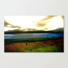 Ominous ! Canvas Print