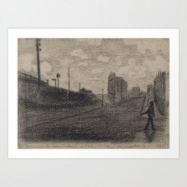 Rue Vercingétorix Art Print