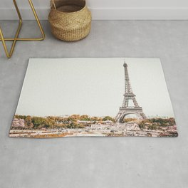 Paris City France Rug