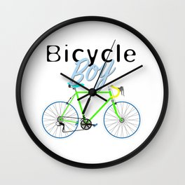 Bicycle Boy – June 12th – 200th Birthday of the Bicycle Wall Clock