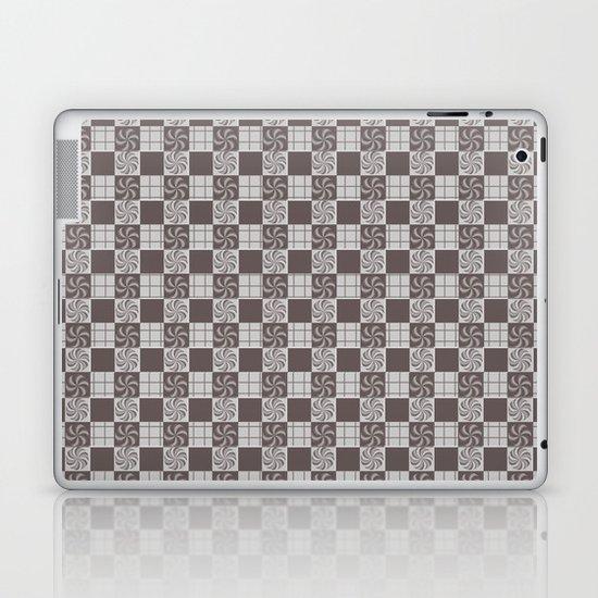 pattern (vintage swirl#1) Laptop & iPad Skin