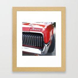 Musclecar No. 2 Framed Art Print