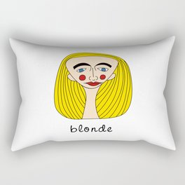 Blonde Rectangular Pillow