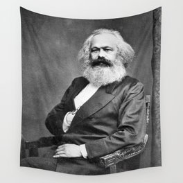 Karl Marx Wall Tapestry