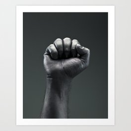 Protest Hand Art Print