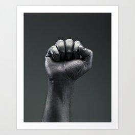 Protest Hand Art Print