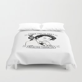 Rosalind Franklin Duvet Cover