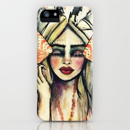 SPIRITUAL GANGSTER iPhone Case