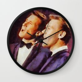 The Righteous Brothers, Music Legends Wall Clock