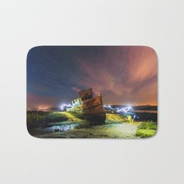 Shipwrecked on the California Coast Bath Mat