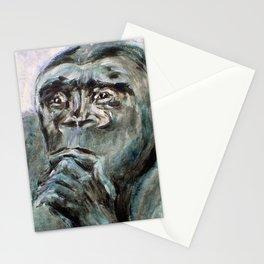 Ishmael, the Gorilla Stationery Cards