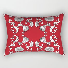 Floral ornament Rectangular Pillow