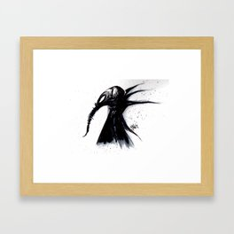 MORPHOUS Framed Art Print