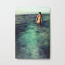 Nude Ocean Metal Print