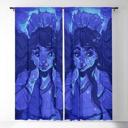 Girl Underwater Blackout Curtain