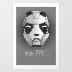 ironPAND Art Print