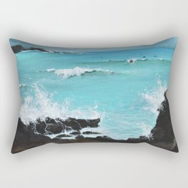 Hurricane Party Rectangular Pillow