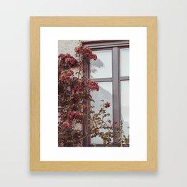 Old feelings Framed Art Print
