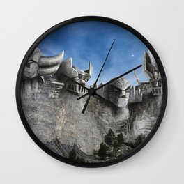 Rushmore SuperRobot Wall Clock