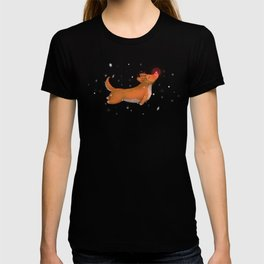 Rudolph, the Red Nosed Corgi T-shirt