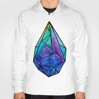prism Hoodies featuring Teardrop Prism by Hayley Lang