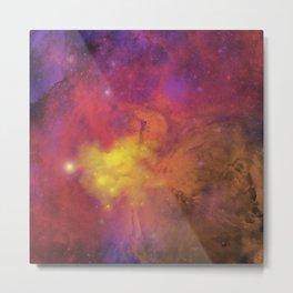 Nebula (plain) Metal Print