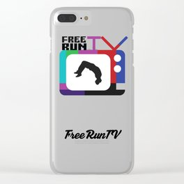 FreeRunTV Clear iPhone Case