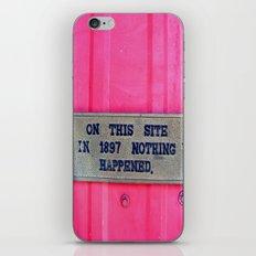 sure it didn't. iPhone & iPod Skin