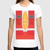transformers T-shirts featuring Starscream Transformers Minimalist by Jamesy