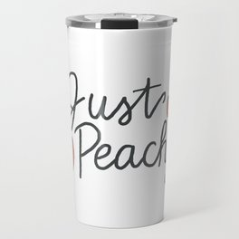 just peachyy Travel Mug