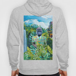 Gorilla in the jungle Hoody