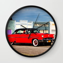 Blast From The Past Wall Clock