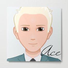 """Ace"" Metal Print"